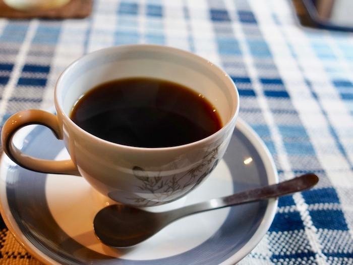 【夢空間はしまや】セットのコーヒー