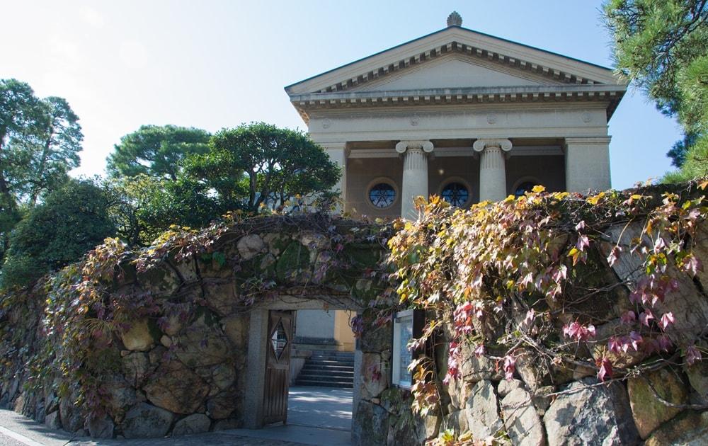 倉敷駅から「有隣荘」へのアクセス 大原美術館