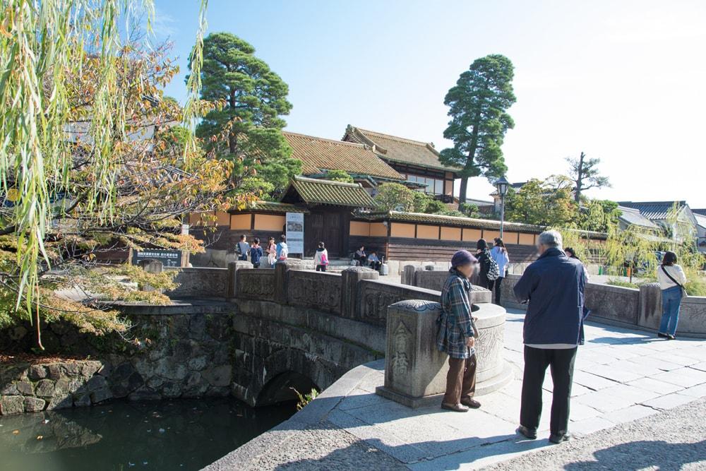 倉敷駅から「有隣荘」へのアクセス 今橋