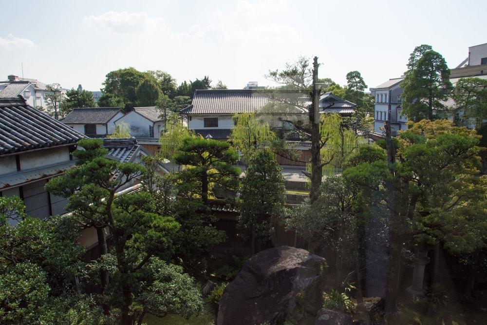 有隣荘 2階からの眺め