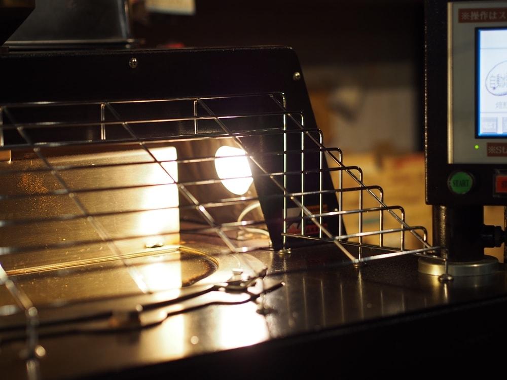 天領倉敷珈琲 焙煎機