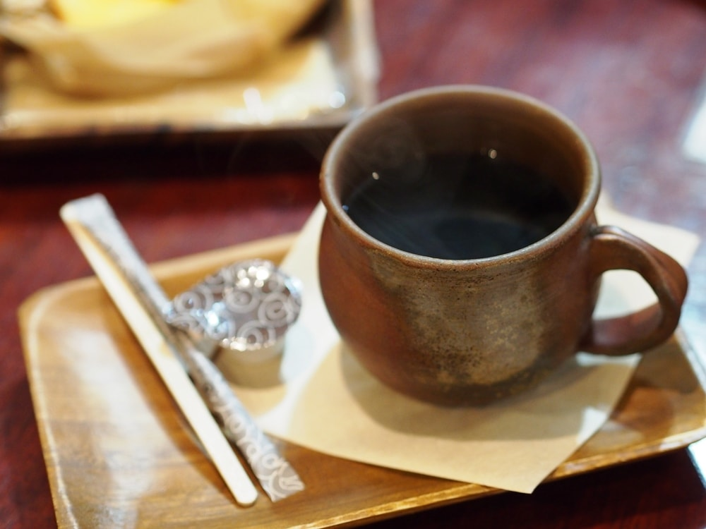 天領倉敷珈琲 ホットコーヒー