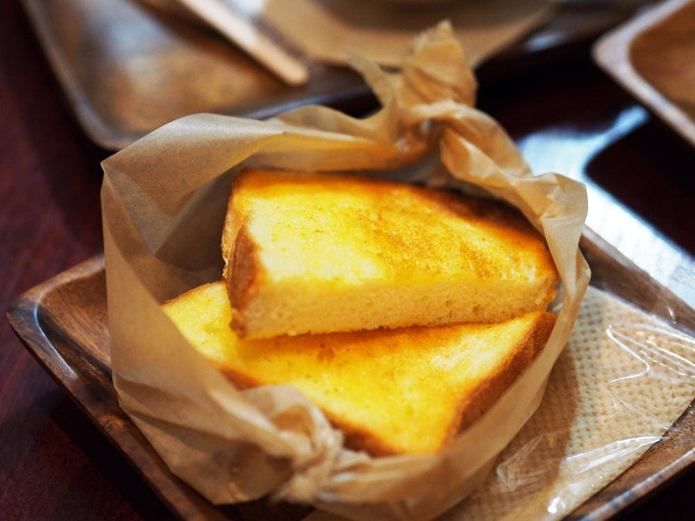 天領倉敷珈琲バタートースト