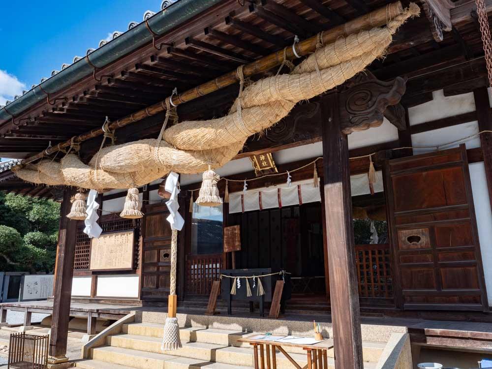 阿智神社 拝殿