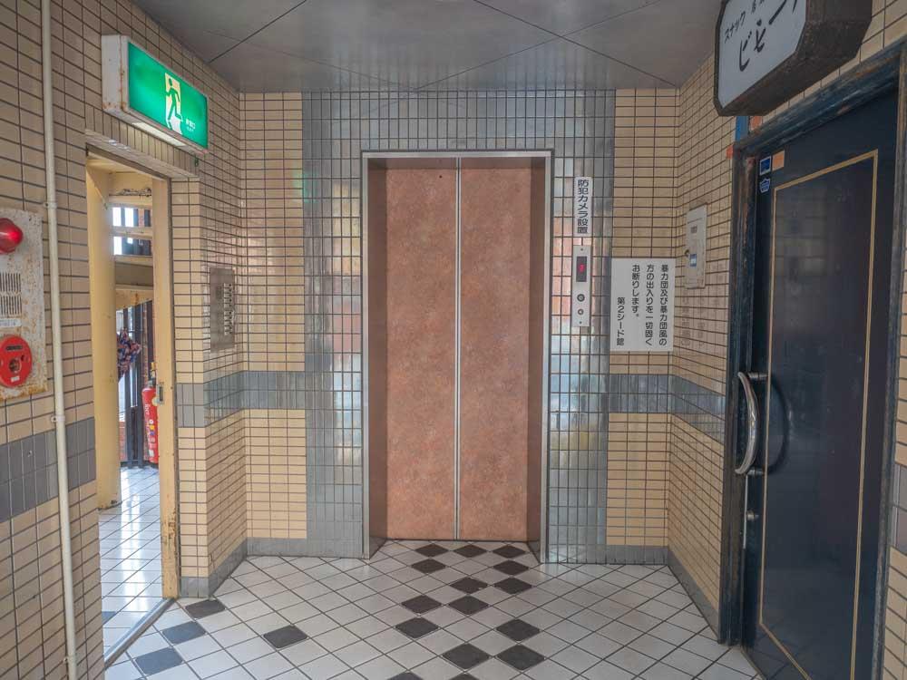倉敷カレー 第2シード館 エレベーター