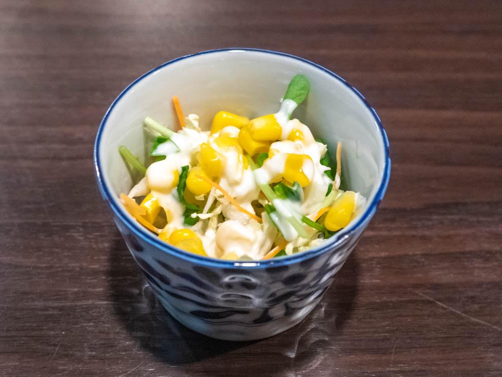 倉敷カレー サラダ