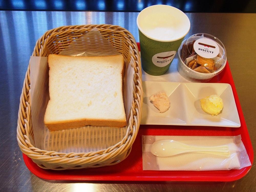 カフェビスキュイ トーストセット