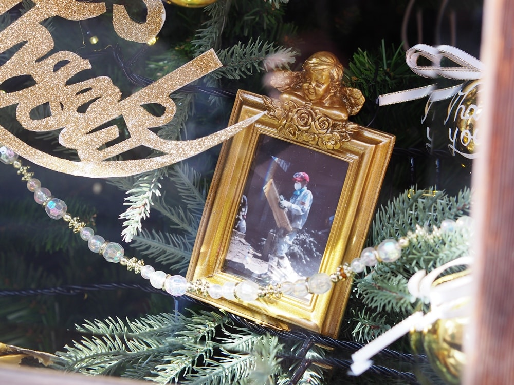 ファーザークリスマス サンクスツリー