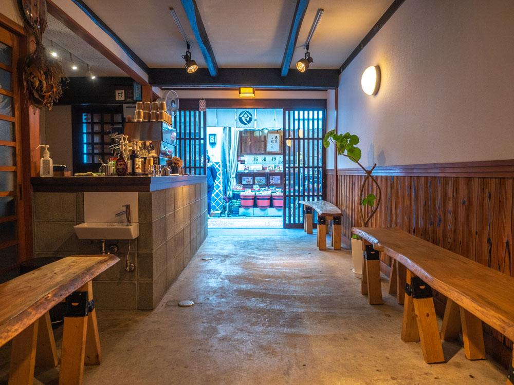 ヤマウ・コーヒースタンド 店内