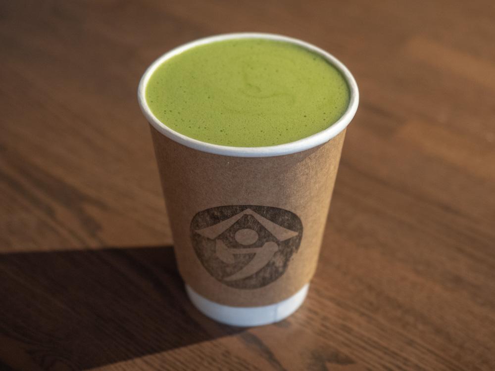 ヤマウ・コーヒースタンド 抹茶ラテ