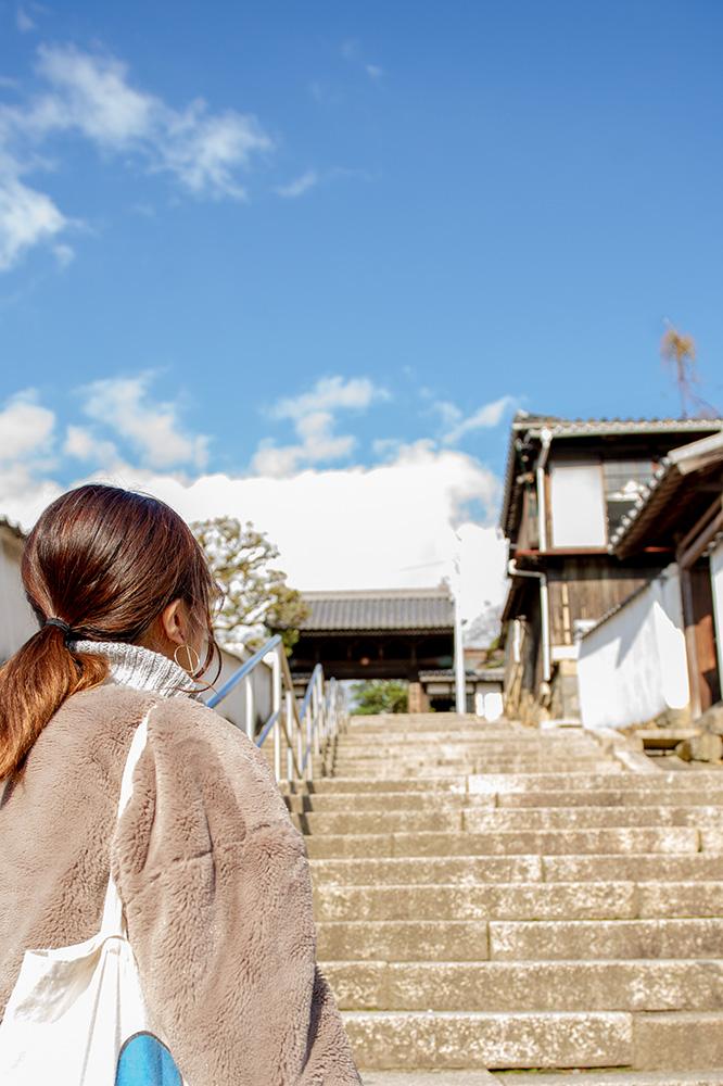 観龍寺の参道