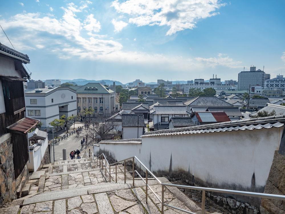 観龍寺 山門前からの眺め