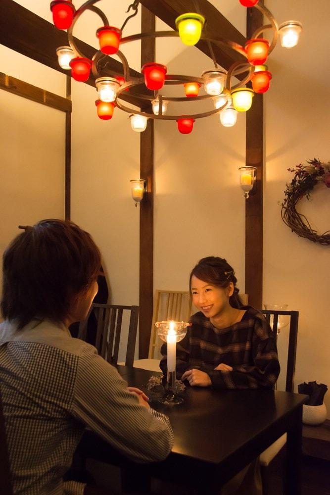 『キャンドル卓 渡邉邸』個室利用できる離れ