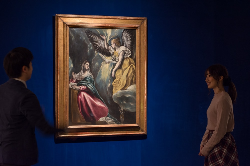 大原美術館 エル・グレコ『受胎告知』