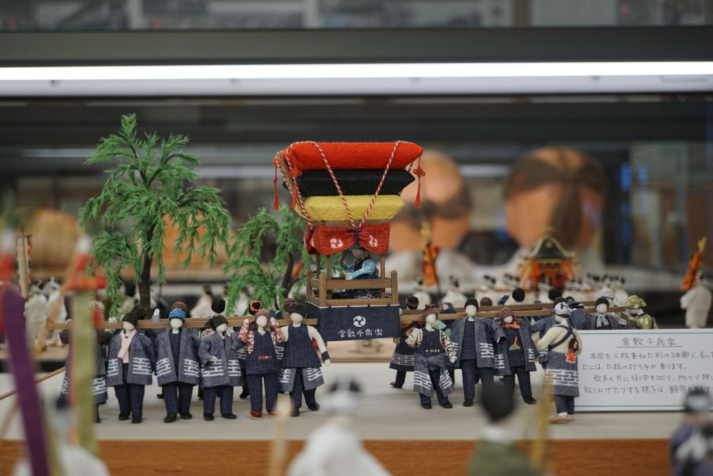 阿知神社秋季例大祭の模型