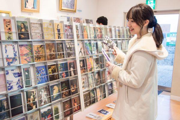 大原美術館ミュージアムショップ ~ アートグッズが豊富なお店で、おしゃれな倉敷土産を