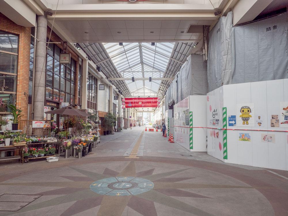 ふじ心:JR倉敷駅前からの行き方(センター街中央付近)