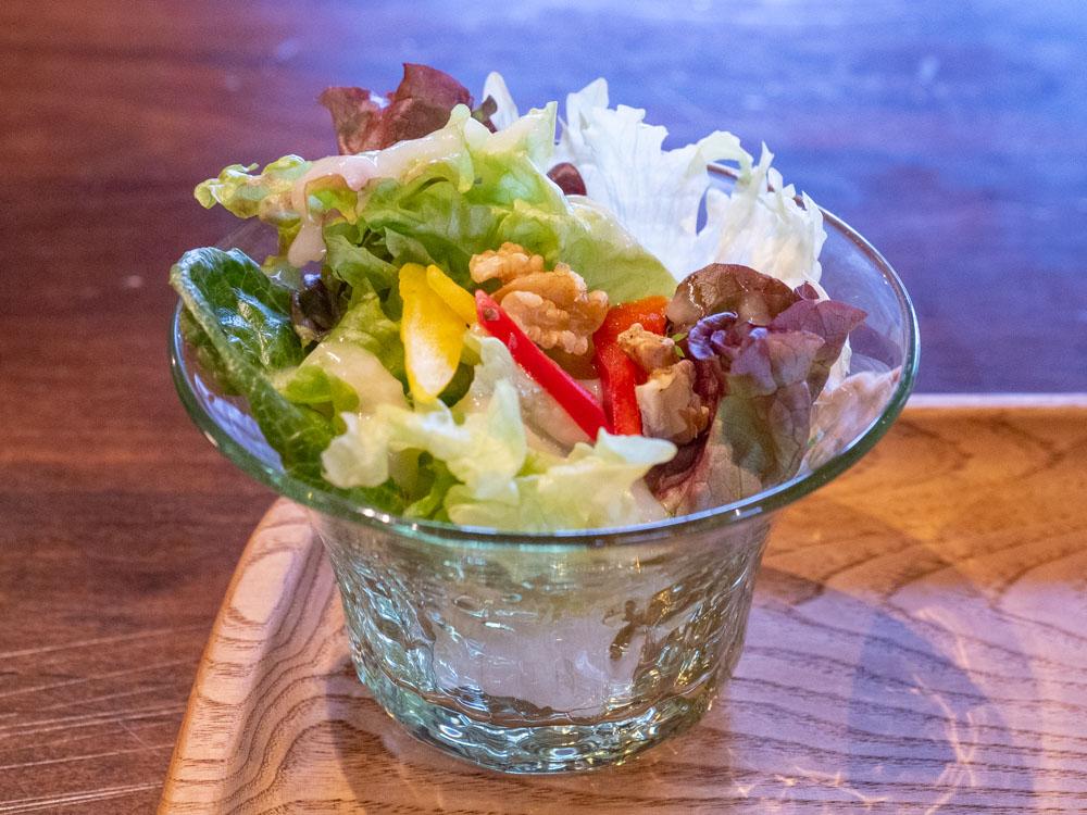 倉敷中島屋:倉敷中島屋特製カレーにつくサラダ