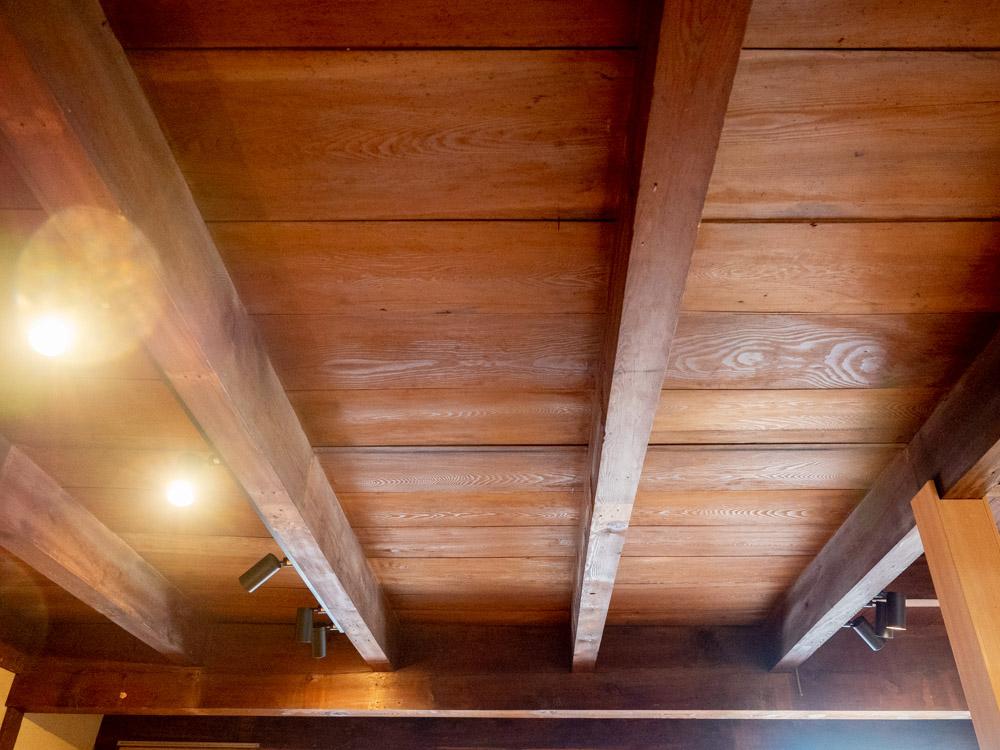 倉敷中島屋:天井