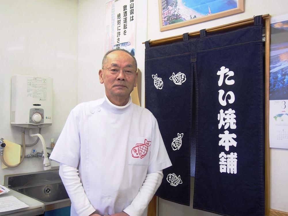 たい焼本舗店主 小野道之さん