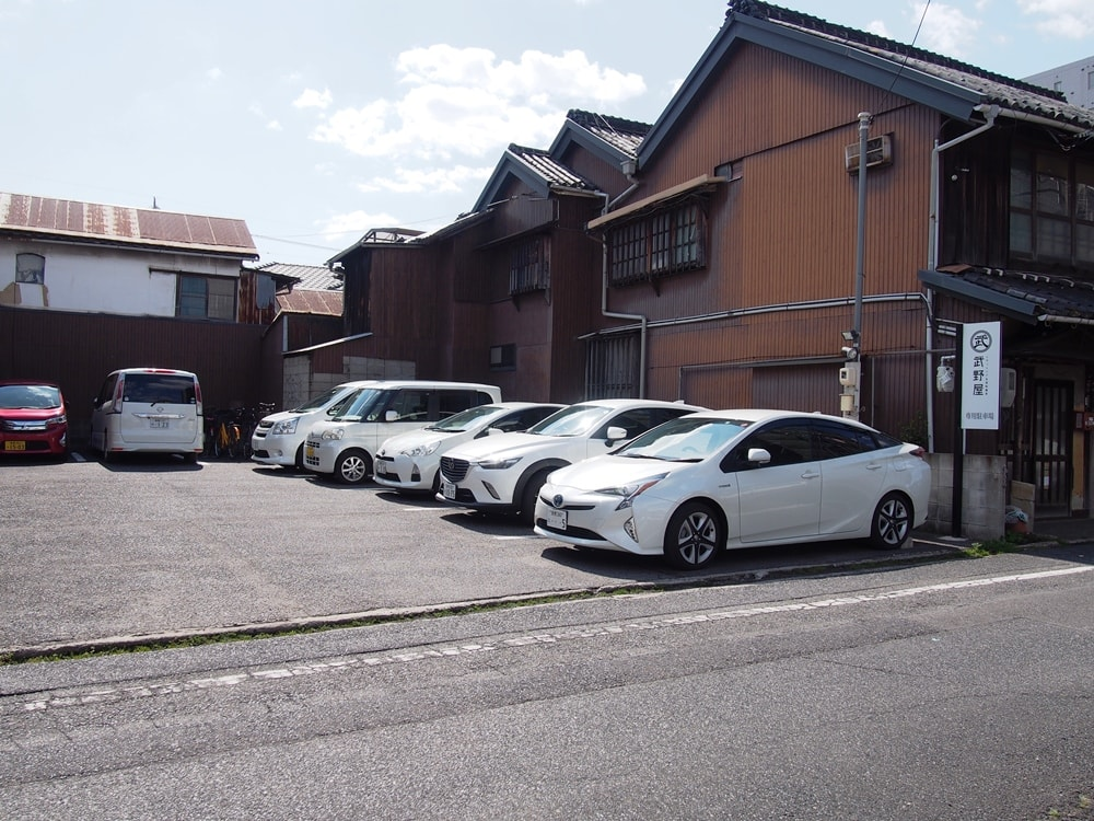 武野屋 駐車場