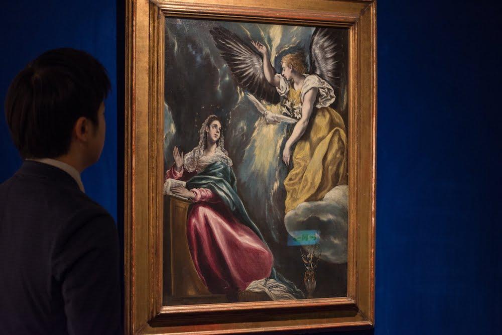 大原美術館の「受胎告知」