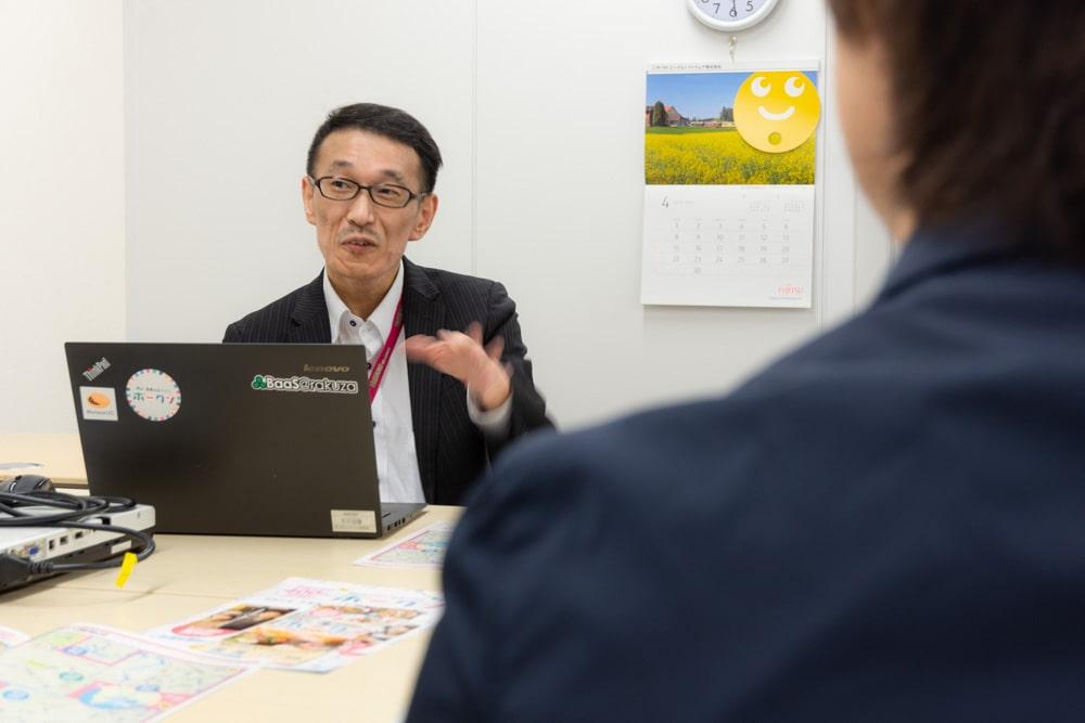 高梁川流域周遊ラリー ピープルソフトウェア 池田さん