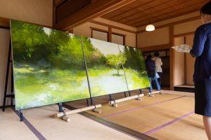 平成31年春の有隣荘特別公開 緑御殿的美緑 ~ 屋根と作品と庭の緑を堪能する展示