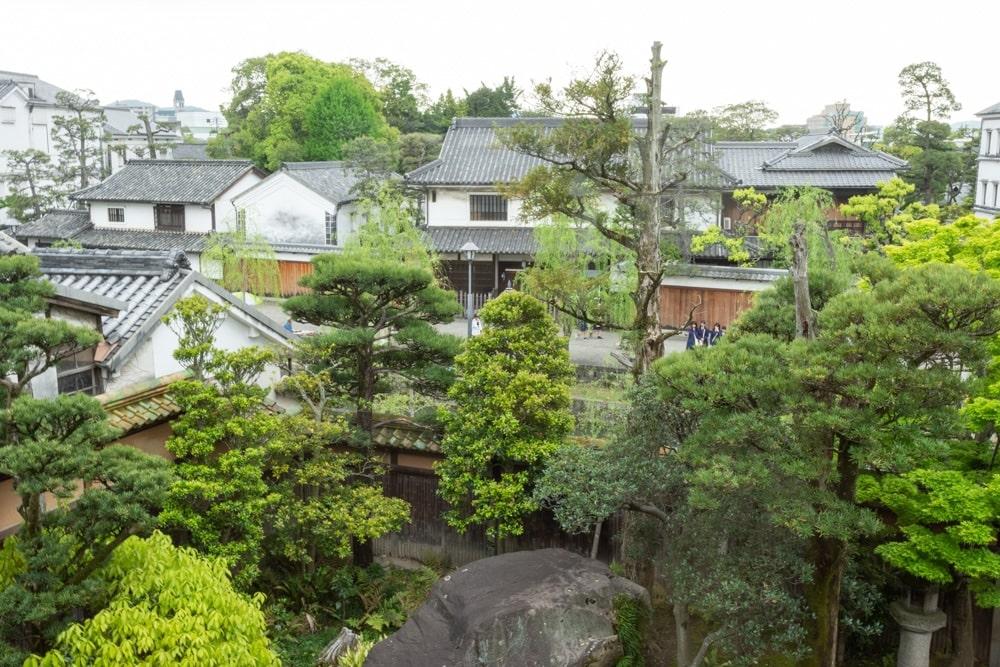 有隣荘 2階からの景色