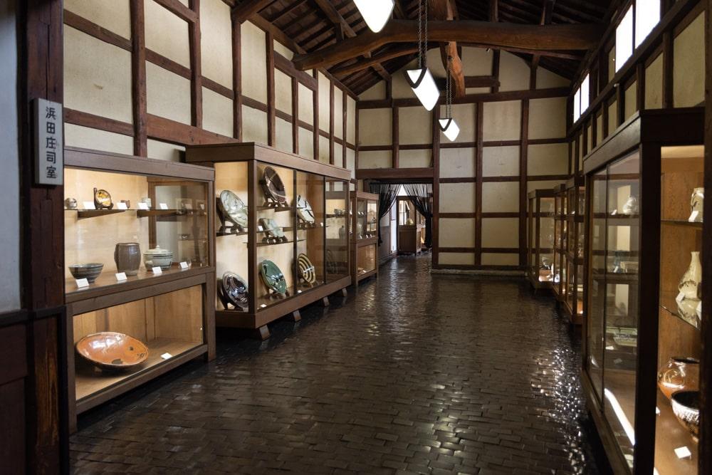 大原美術館 工芸・東洋館 浜田庄司室