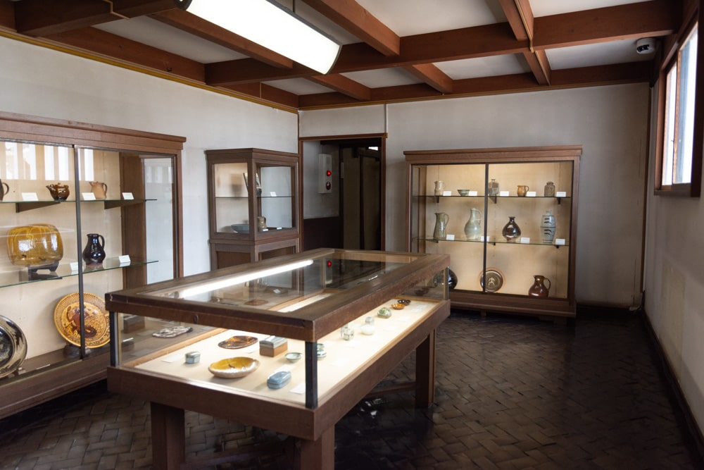 大原美術館 工芸・東洋館 バーナード・リーチ室