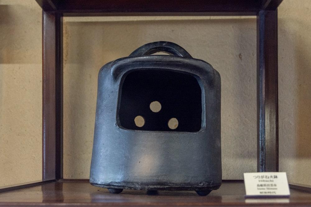 倉敷民藝館 つりがね火鉢