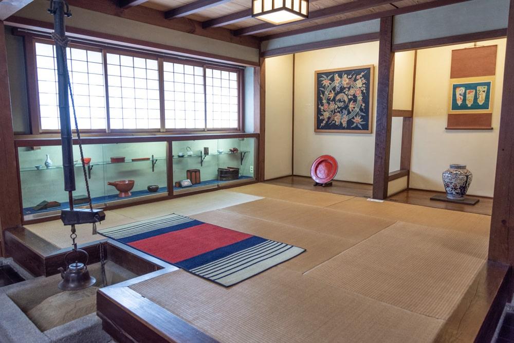 倉敷民藝館 いろりの部屋