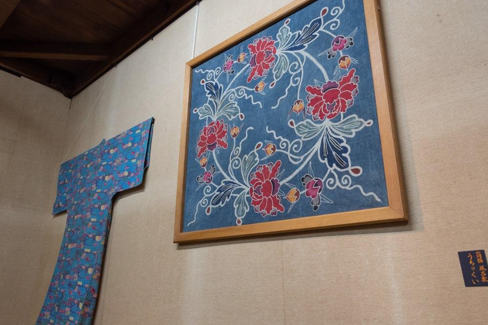 倉敷民藝館 風呂敷