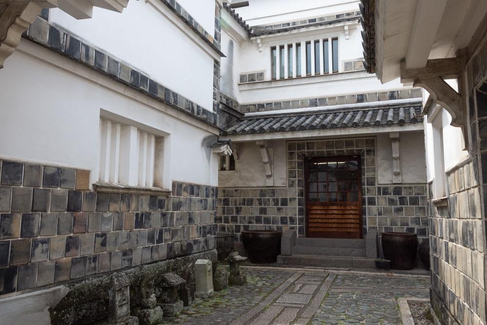 倉敷民藝館 中庭
