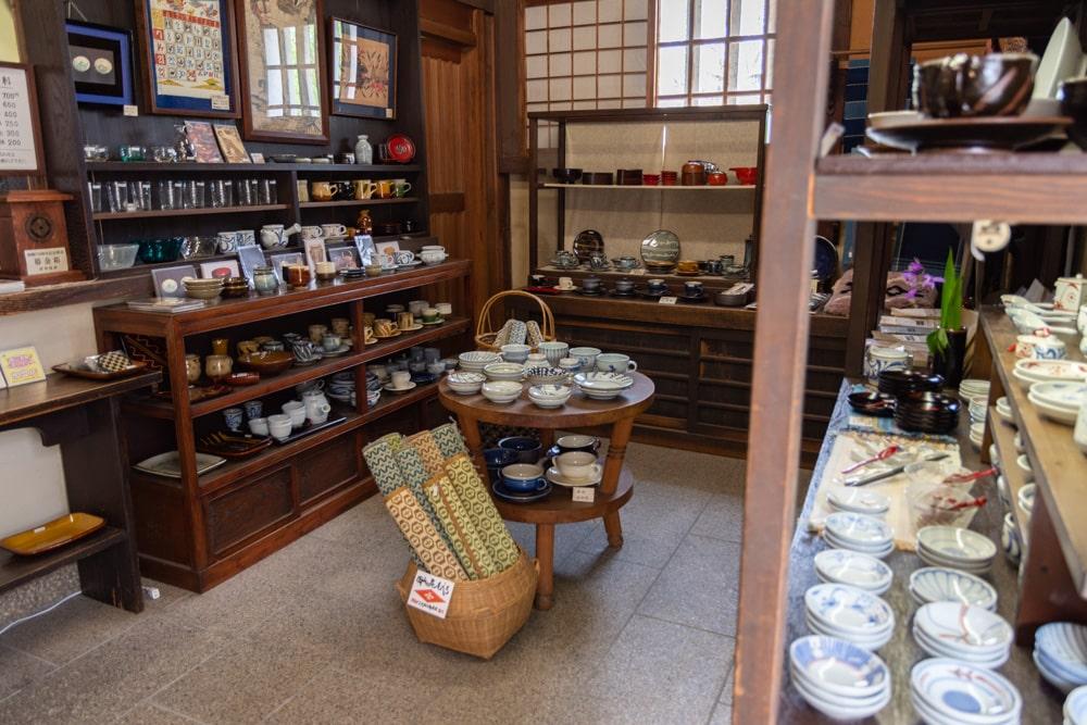 倉敷民藝館 売店