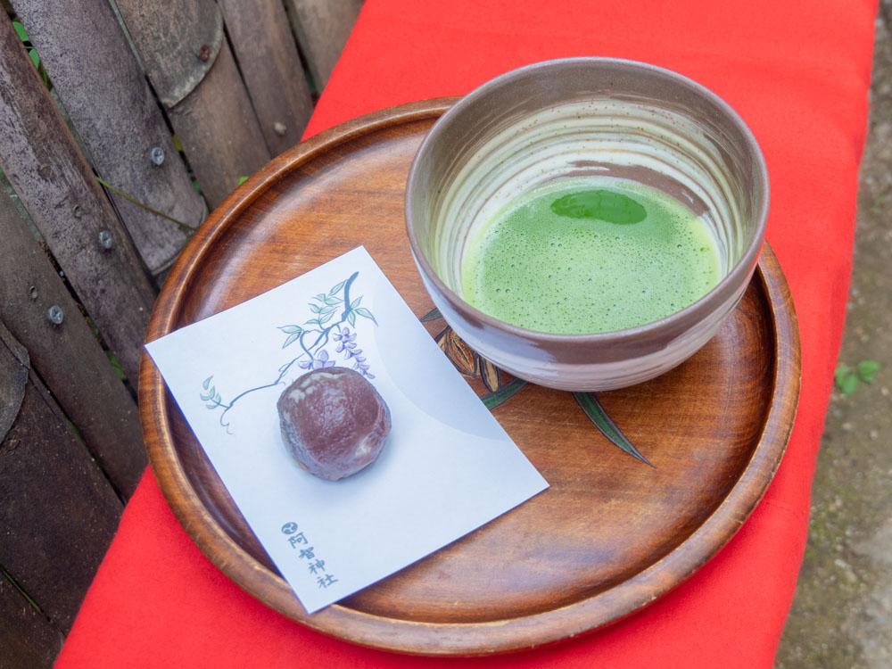 藤見の会(令和元年) 抹茶と和菓子