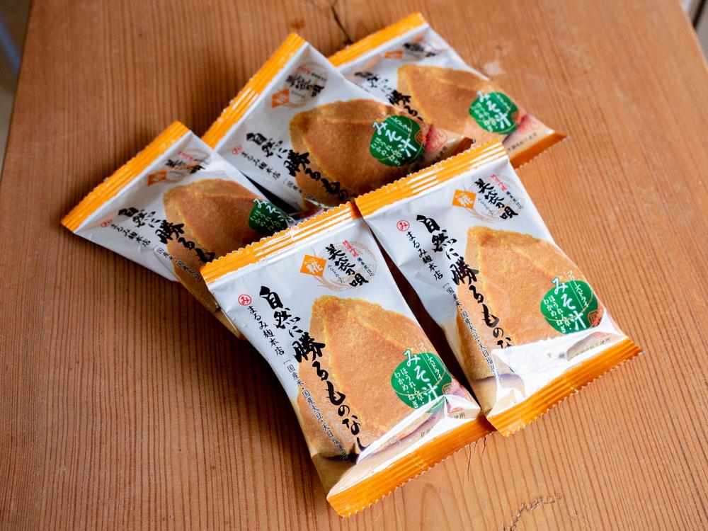 まるみ麹本店のフリーズドライ味噌汁