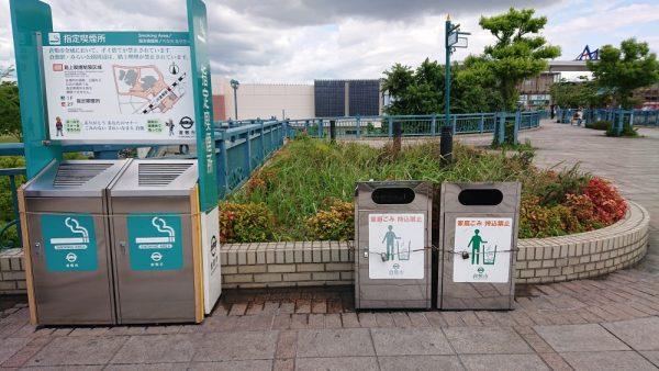 JR倉敷駅の指定喫煙所はどこにある?倉敷駅周辺の6か所を紹介