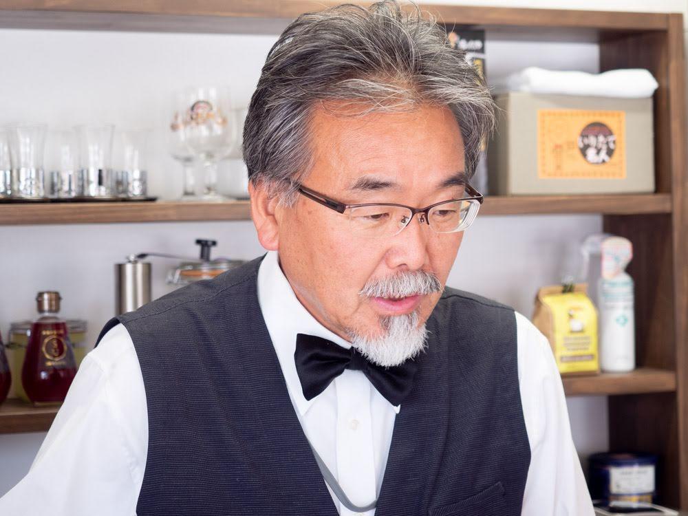 喫茶 心温 オーナー 佐野 誠さん1
