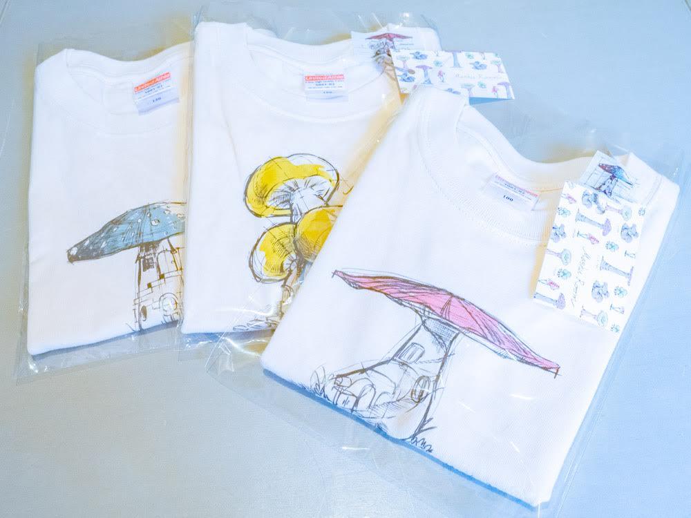 マシュルーム オリジナル商品 Tシャツ