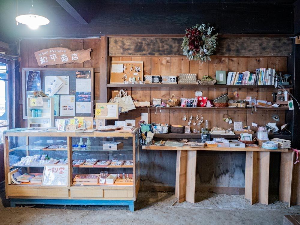 つながるカフェ [ 線 -sen- ] 物販スペース
