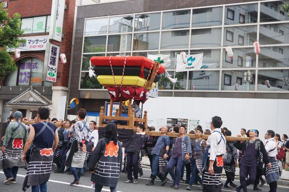 第49回倉敷天領夏祭り 倉敷千歳楽