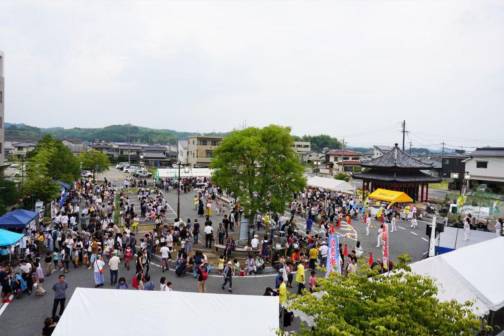竹&ふれあいフェスタ 吉備真備駅前