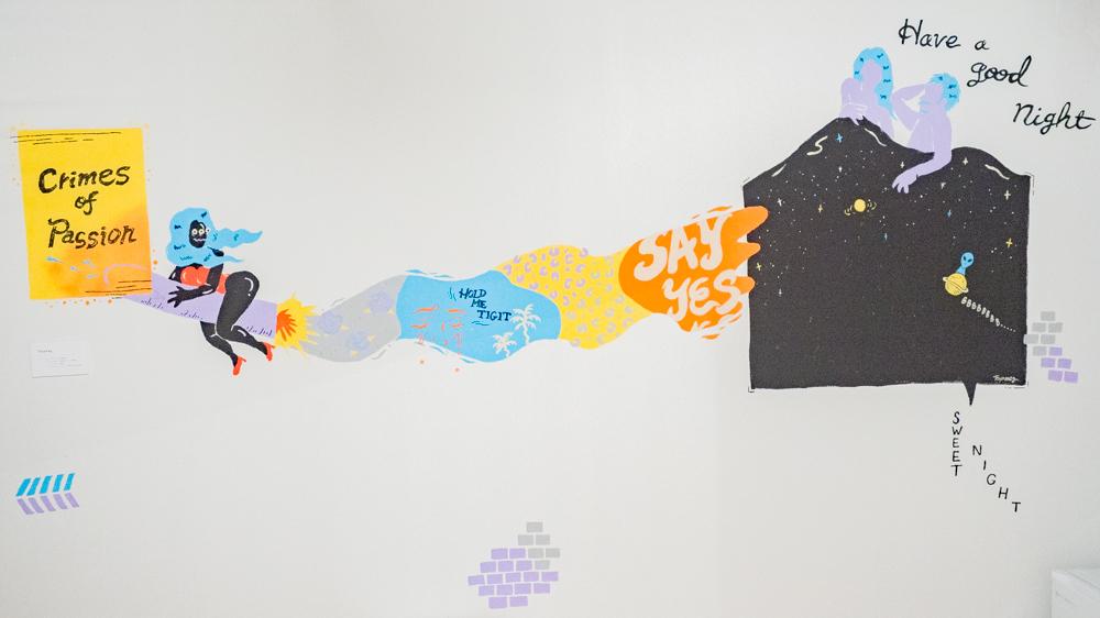 KAG:プライベートルーム(個室)に描かれた画家の絵