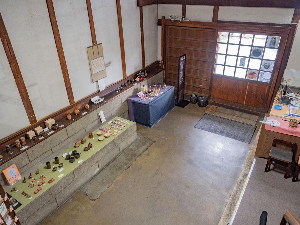 倉敷考古館:1階受付