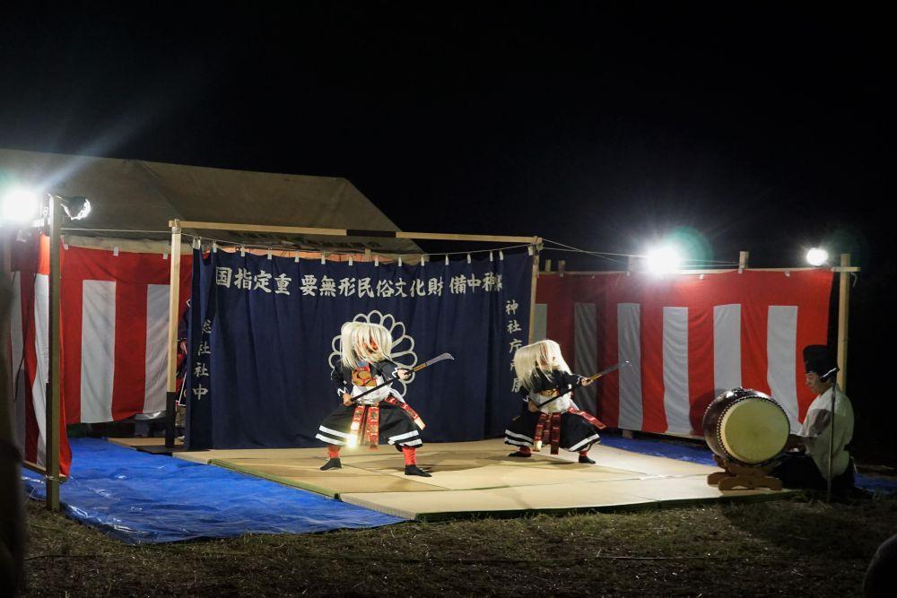 弾琴祭 神楽