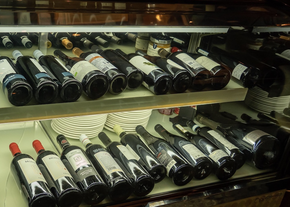 LUCE WINE&TAPAS(ルーチェ ワインアンドタパス) ワインセラー