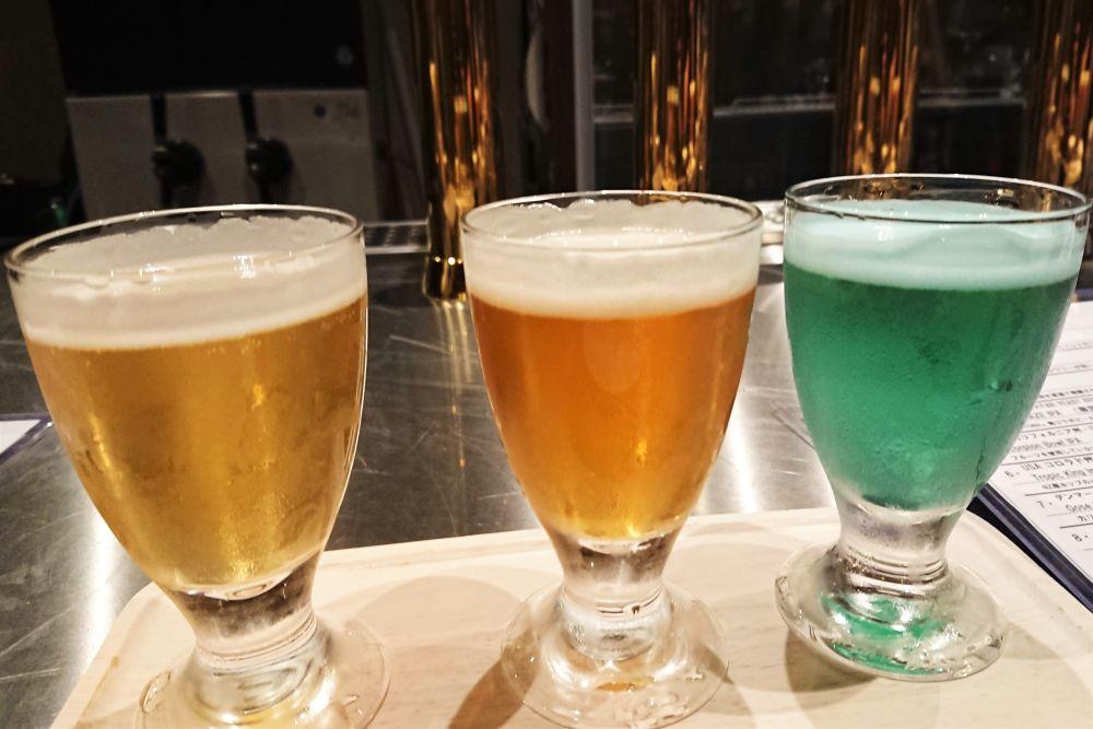 Beer BAR marugen 飲み比べセット