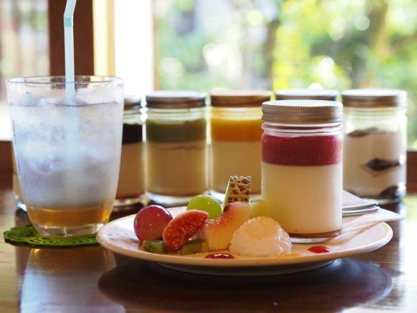 倉敷老松三丁目 カフェ庭(café庭) ~ 庭に呼ばれ、庭とともに歩む。手作りデザートも魅力的なおうちカフェ